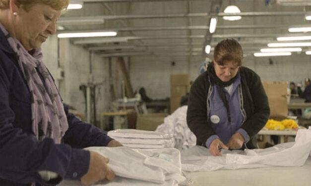 Cooperativa textil en peligro: orden de desalojo inminente