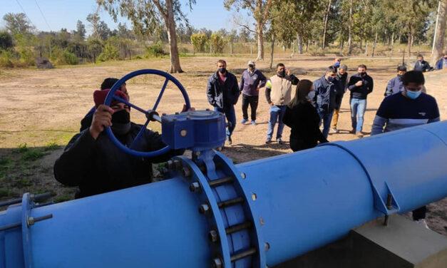 Chaco: finalizaron las pruebas de tuberías para el transporte de agua a Charata