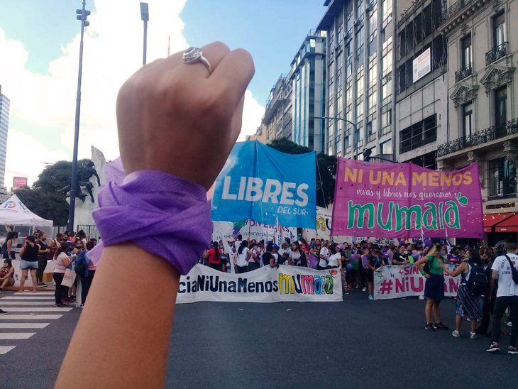 Acto políticas feministas y diverses-disidentes