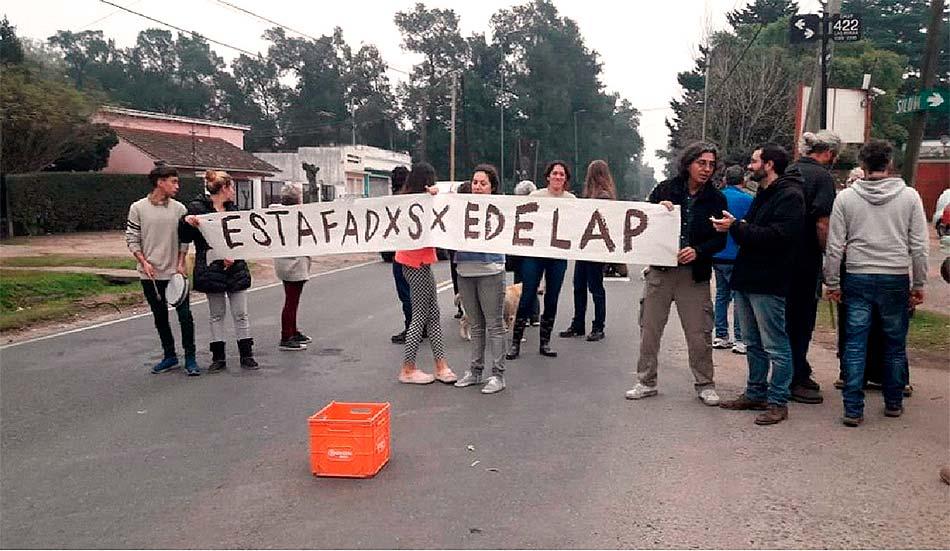 Cortes de luz La Plata