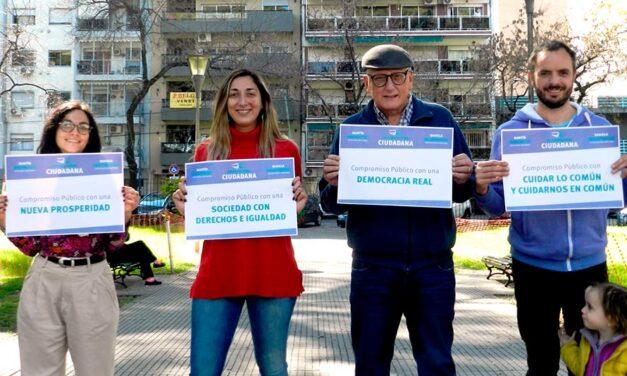 Alternativa Ciudadana firmó un compromiso público