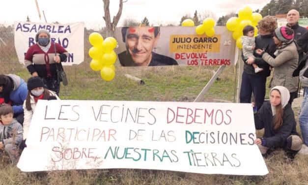 """La Plata: el barrio El Rincón dice """"no"""" a la Iglesia"""