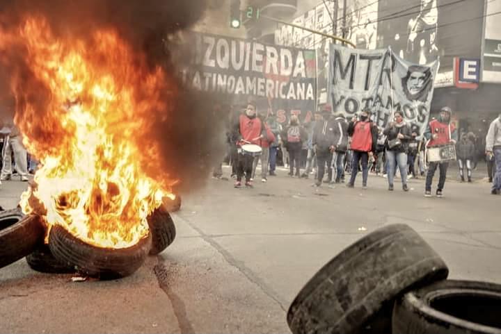 Movilización y represión en Lomas de Zamora