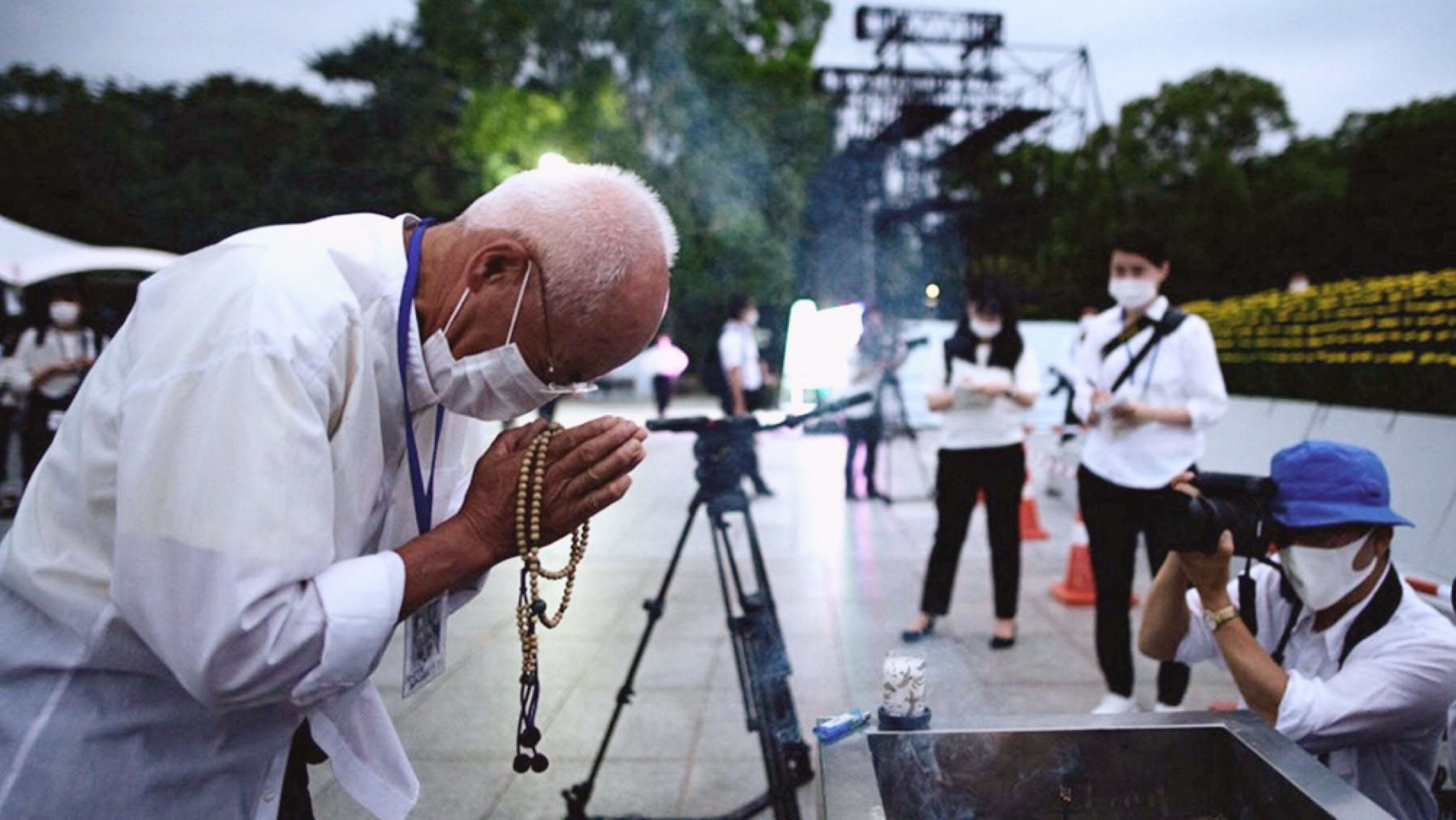 Japón homenajeó a las víctimas de la bomba atómica sobre Hiroshima