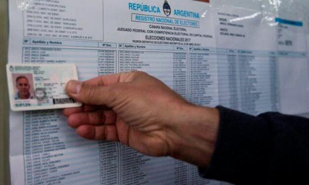 PASO: verificá tu lugar de votación