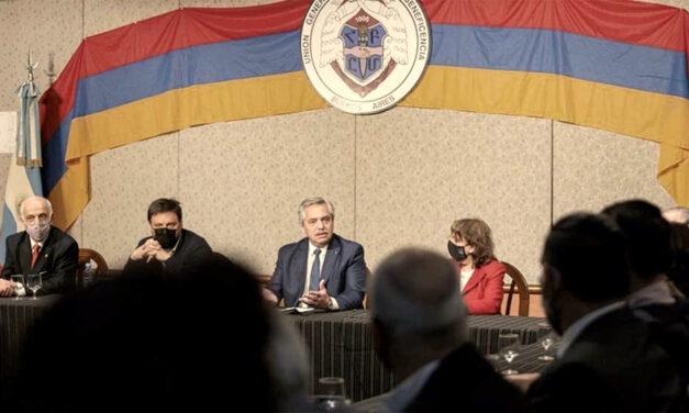 Alberto Fernández se comprometió con el caso de Arshak Kharanyan