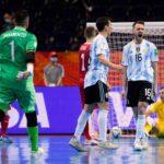 Mundial de Futsal: victoria y clasificación para la Selección Argentina