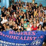 Mujeres sindicalistas reclamaron la aplicación del cupo femenino en la CGT
