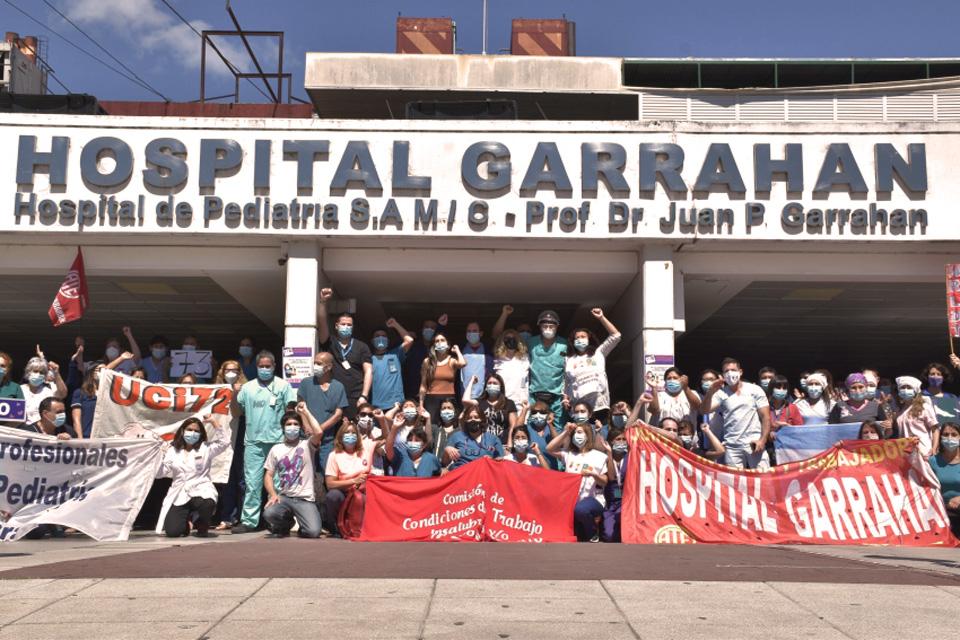 Protesta Garrahan