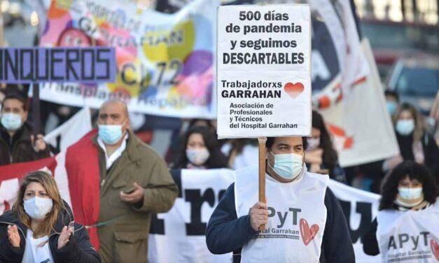 "Trabajadores del Hospital Garrahan realizarán la ""Marcha de la bronca"""