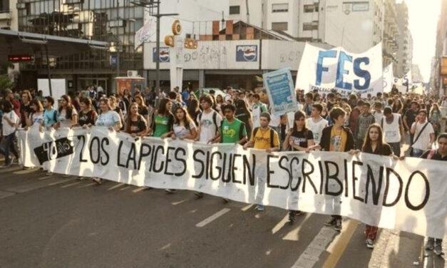 Caravana y marcha en La Plata a 45 años de La Noche de los Lápices