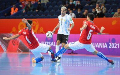 Victoria y pase a cuartos: Argentina eliminó Paraguay en el Mundial de Futsal