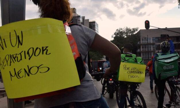 Ni Un Repartidor Menos, la agrupación de les trabajadores de delivery