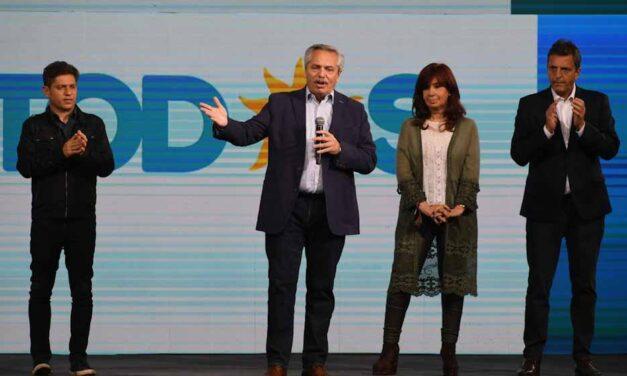 Alberto Fernández admitió la derrota de su espacio político en las PASO
