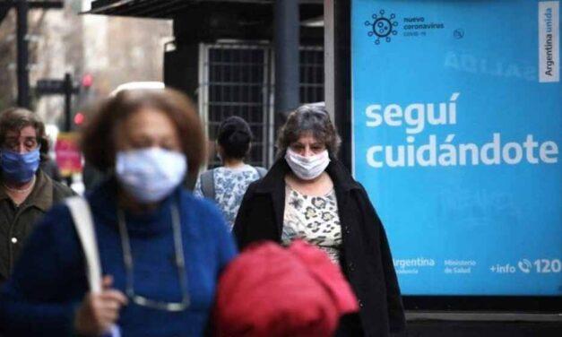 COVID-19 en Argentina: se observa una tendencia decreciente respecto a los contagios