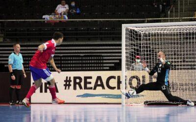 Argentina venció a Rusia por penales y avanzó a las semifinales