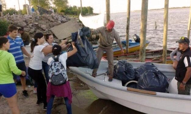 Convocan a una jornada de limpieza del río Paraná