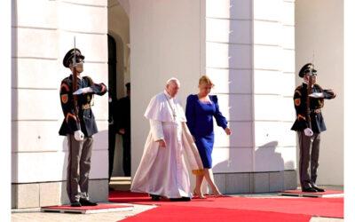 El Papa Francisco habló a Europa desde Eslovaquia