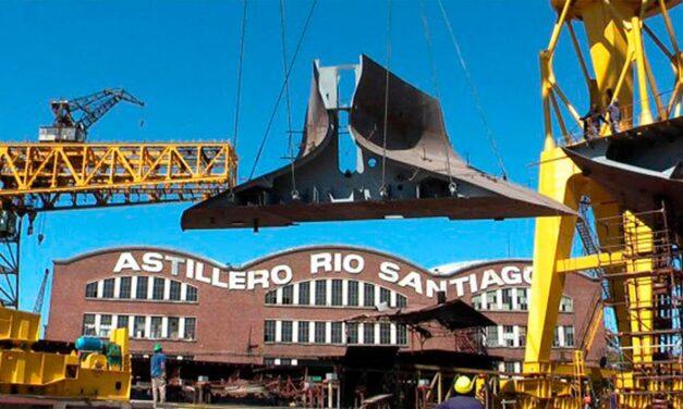 El astillero Río Santiago inauguró un buque tras nueve años de parálisis productiva