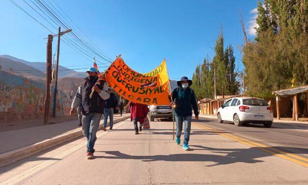Jujuy: Continúa avanzando la Caminata por el Agua y la Vida