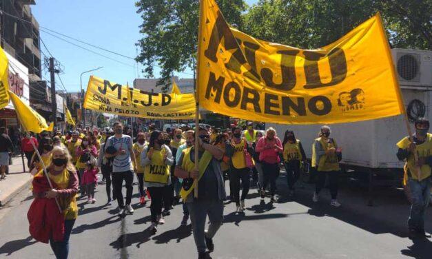 Marcha del MIJD logró una mayor asistencia para sus comedores