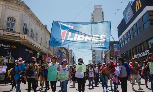 Protestas contra el Código de Convivencia en La Plata