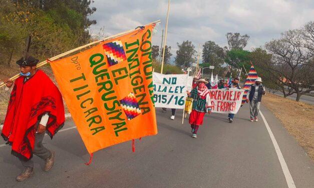 Jujuy: concluyó la Caminata por el Agua y la Vida