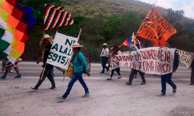 """Pueblos indígenas en Jujuy se reunieron """"en resguardo del territorio y en defensa de la vida"""""""