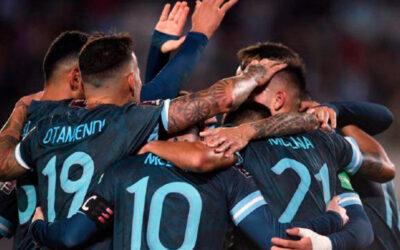Argentina pisó fuerte de local y está cerca de clasificar a Qatar 2022
