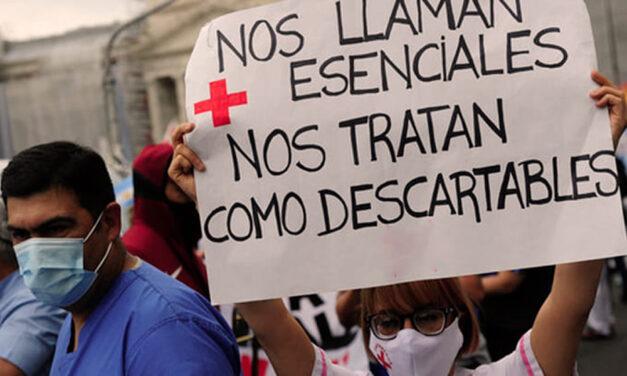 Denuncian despidos masivos de enfermeres en la Ciudad de Buenos Aires