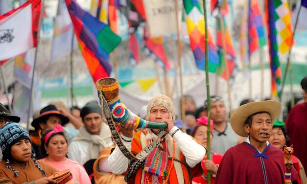Pueblos originarios reclaman por la prórroga de la Ley de relevamiento territorial